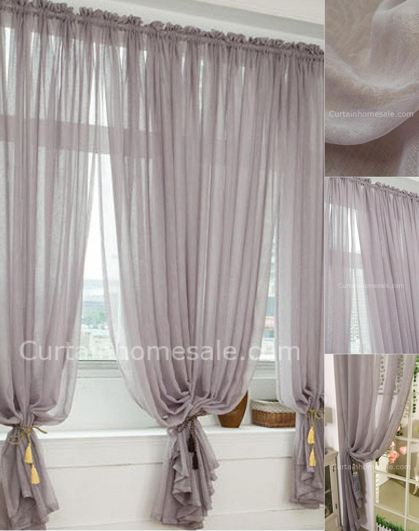 Printed Sheer Curtains heavy patterned grey polyester bedroom printed sheer curtain TZVLERR