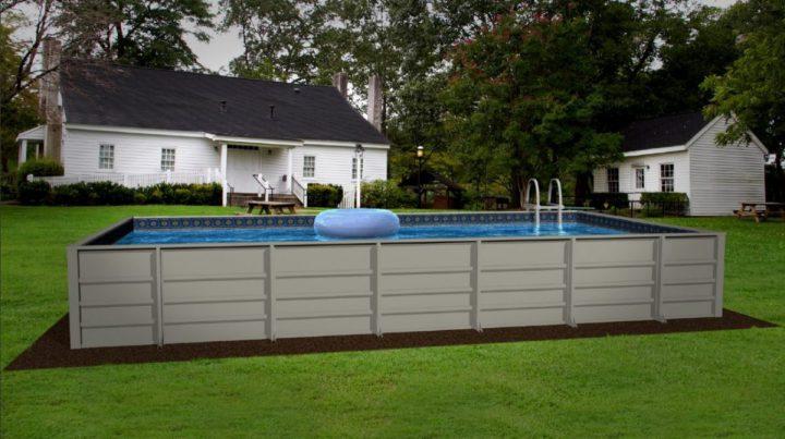 rectangular above ground swimming pools hercules aboveground pool UZYUIAE