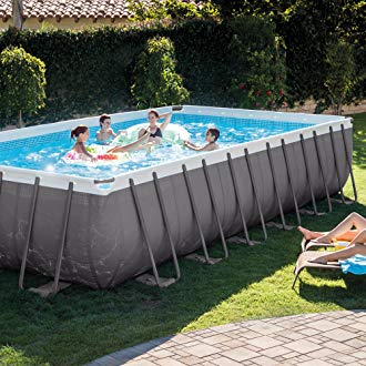 rectangular above ground swimming pools if you want a larger pool with the right shape SWZTWAM