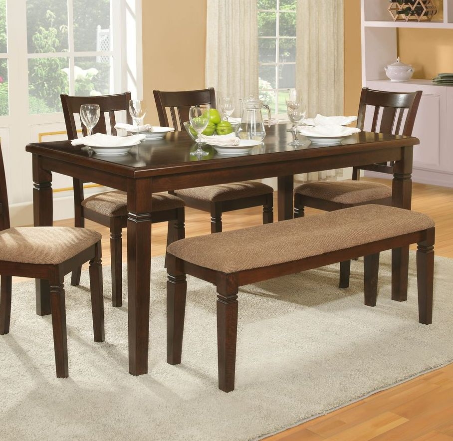 rectangular dining tables for small spaces ... dining tables, small rectangular dining table with bench and UENHEPT