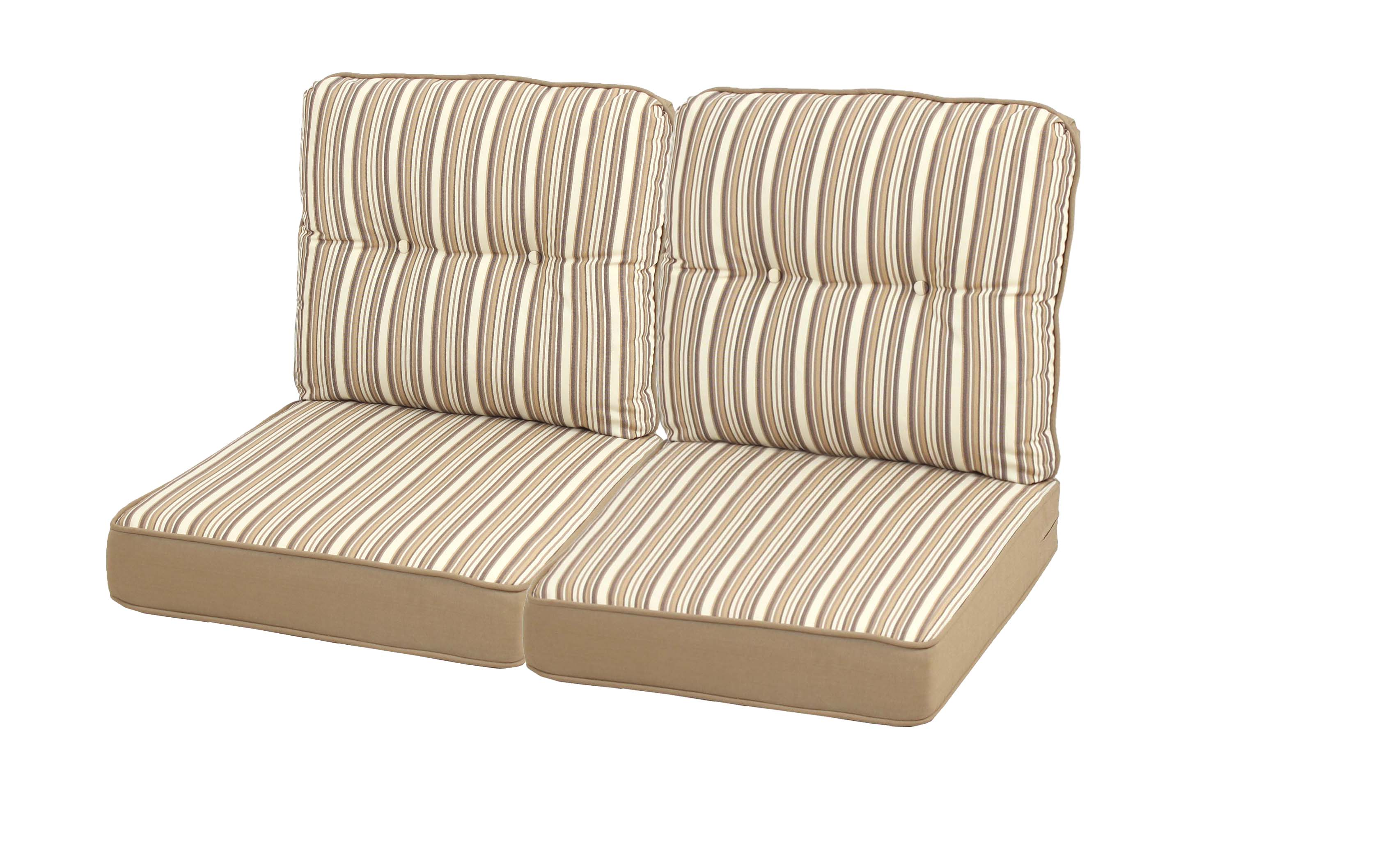 replacement cushions for outdoor furniture mayfield replacement loveseat cushion set | shop your way: online OSCKIWM
