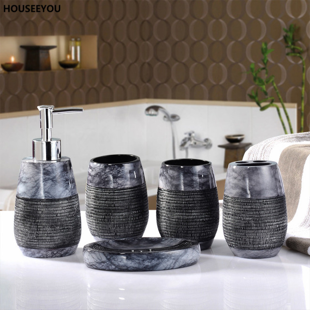 Vintage is good-Rustic bathroom decor sets