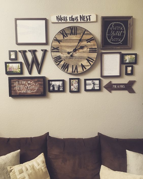 rustic wall decor ideas for living room 25 must-try rustic wall decor ideas featuring the most amazing RBEEGQY
