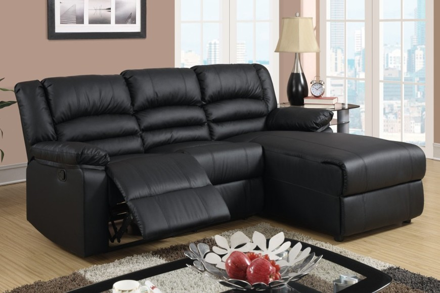 sectional with chaise lounge and recliner 3black-chaise-lounge-sofa-recliner RPIIMLU