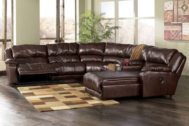 sectional with chaise lounge and recliner leather sectional with chaise and recliner ONFIBSX