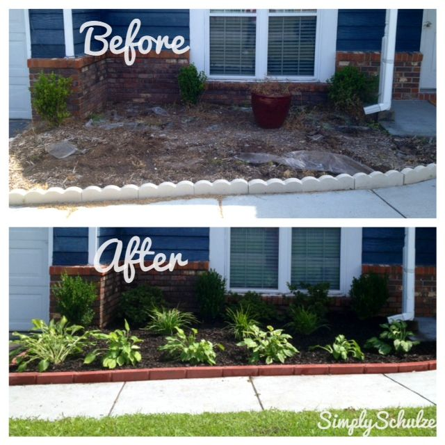 simple front yard landscaping ideas on a budget PZZJZUZ