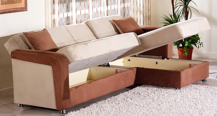 sleeper sectional sofa for small spaces brilliant space sofas 16 YEURBJI
