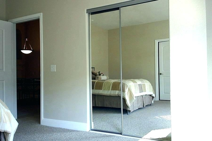 sliding mirror closet doors for bedrooms decoration: bedroom closet doors sliding mirror for closets lovely mirrored PWQIIBL