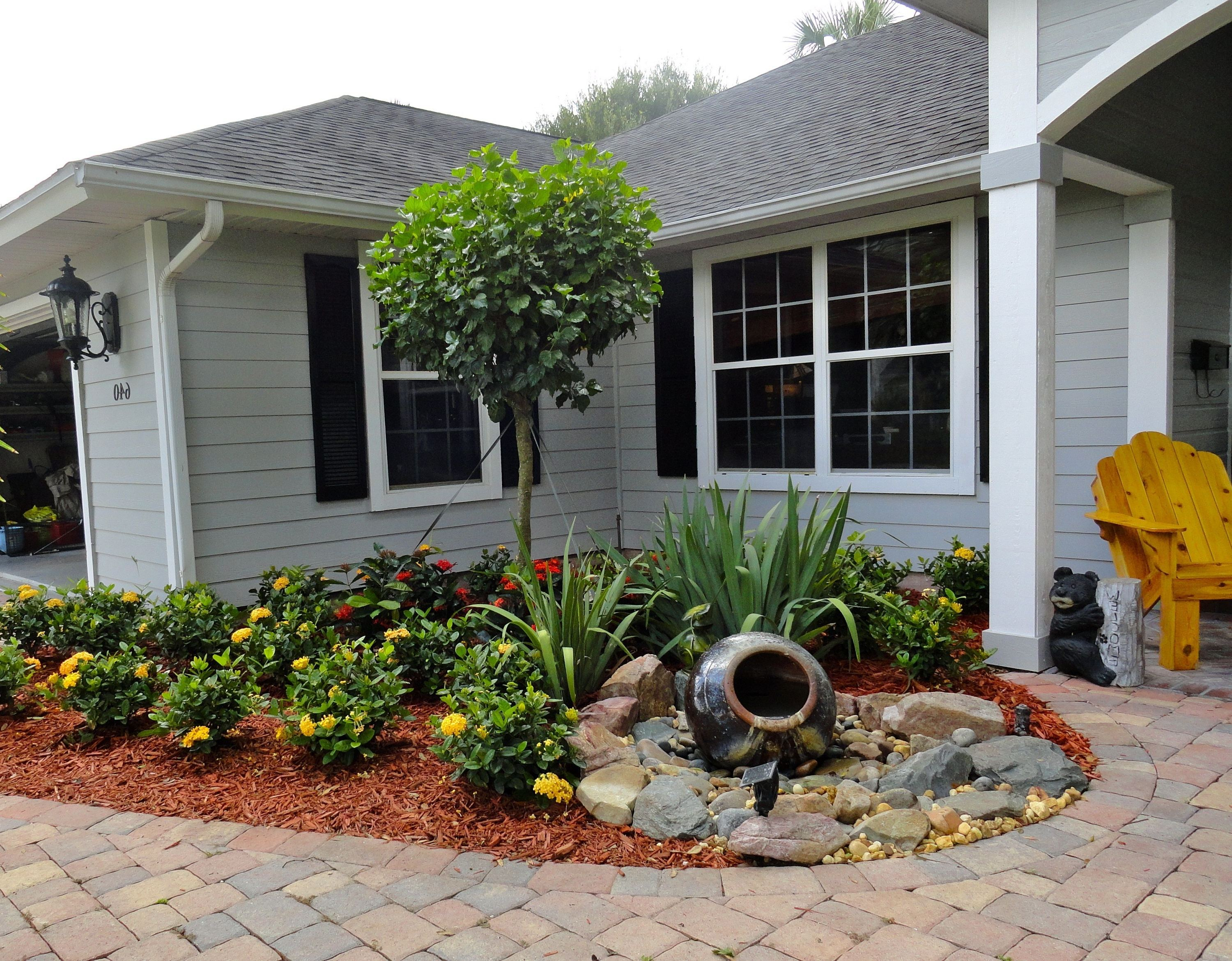 small front yard landscaping ideas on a budget PWYZTLM