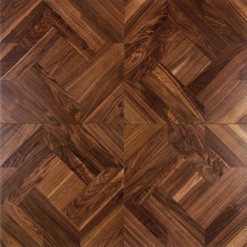 solid wood floor parquet flooring polygon decorative wood floor burmese  teblack ACDFYVG
