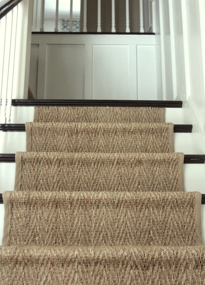 stair runners by the foot sisal stair runner by the foot - home design ideas and pictures FIYUZLV