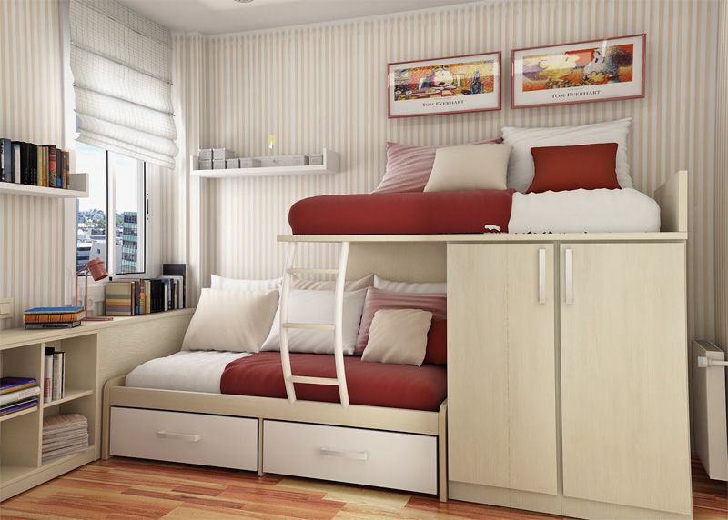 teenage girl bedroom ideas for small rooms 55 thoughtful teenage bedroom layouts - digsdigs UYDVCTH