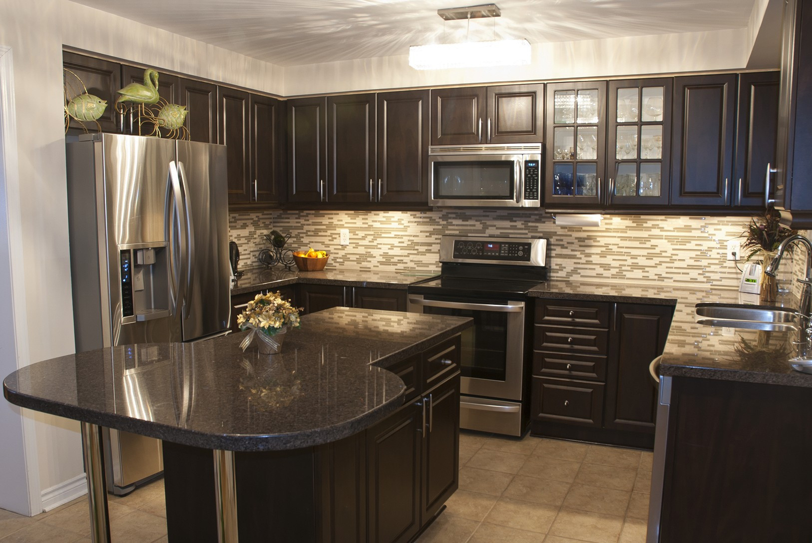 the decorating ideas best paint color for kitchen with dark cabinets JOLTIBG