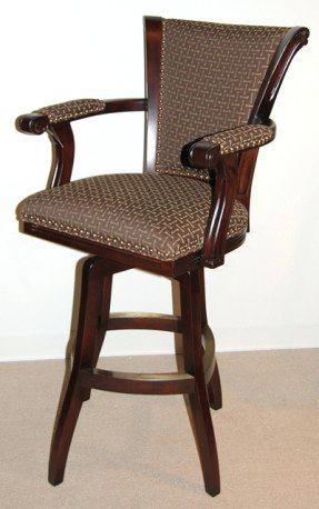 upholstered swivel bar stools with backs upholstered bar stools with backs upholstered arm swivel bar stool ETONBLF