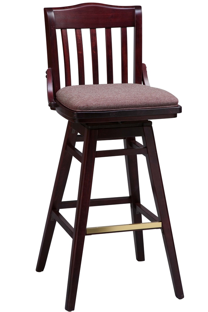 upholstered swivel bar stools with backs wooden counter height bar stools - bar u0026 restaurant furniture, CKWLWLX