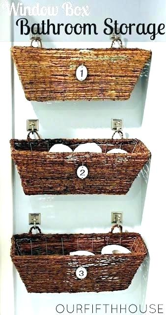 wall hanging baskets for bathroom storage wall hanging baskets wall hanging storage basket wall hanging baskets IREQINZ