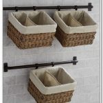 Wall Hanging Baskets For Bathroom Storage: Importance of Ample Storage