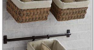 wall hanging baskets for bathroom storage wall mount storage baskets wall storage units with baskets bathroom LURZKBC