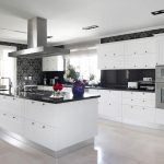 White Kitchen Cabinets With Black Countertops: Aesthetically Pleasing as They Come