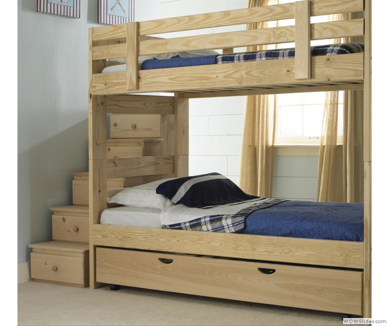 wooden bunk beds with stairs and drawers stackable bunk bed with storage stairs and trundle bed MRTCNXM