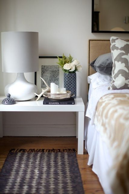 Look for the right grade materials of runner rug next to bed
