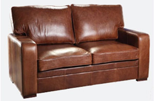 Miami 2 Seater Leather Sofa. Quality Oak furniture from The