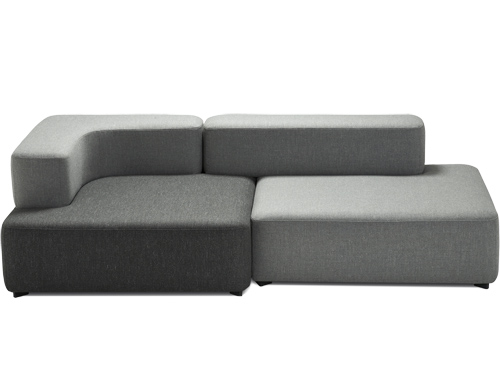 Alphabet 2 Seat Sofa - hivemodern.com