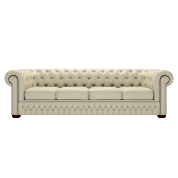 Classic Chesterfield Four-Seater Sofa | Timeless Chesterfields