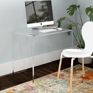 Plastic/Acrylic Desks You'll Love | Wayfair