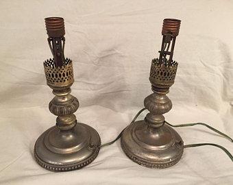 Antique lamps | Etsy