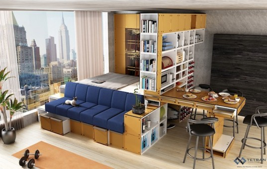 10 Transforming Furniture Designs Perfect for Tiny Apartments
