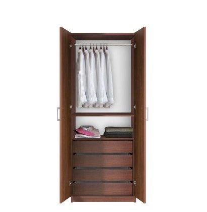 Bella Hanging Wardrobe Armoire / Closet | Contempo Space