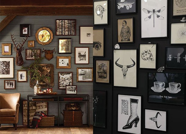 Secrets To Creating The Perfect Masculine Art Wall |