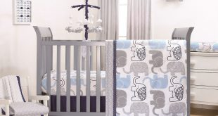 The Peanut Shell 3 Piece Baby Boy Crib Bedding Set - Little Peanut