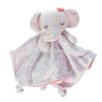 China Eco-friendly Baby Comforter Animal Soft Baby Blanket Toy on