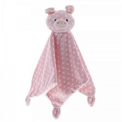Baby comforters,baby blankets, pink pig, baby comforter
