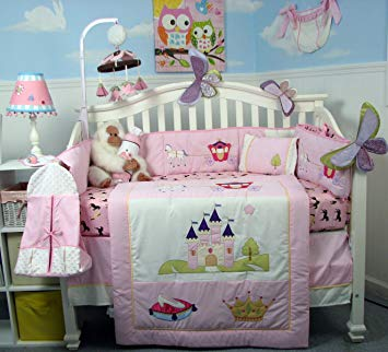 Amazon.com : SoHo Royal Princess Baby Crib Nursery Bedding Set 13