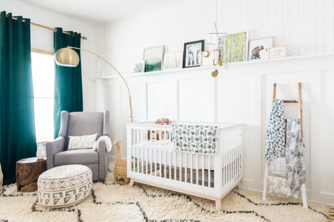 Natural Baby Nursery Design Reveal | Root + Revel