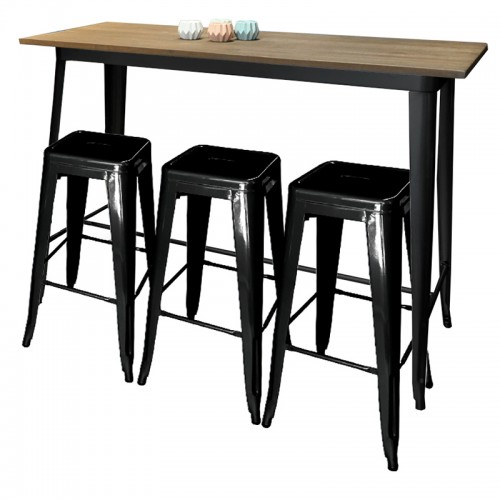 Bar Table Cafe Drinks Tables Rectangle, Square From BuyDirectOnline