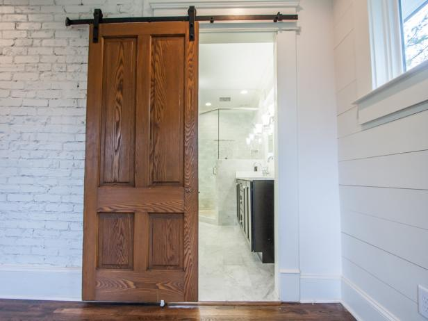 How to Install Barn Doors | DIY Network Blog: Made + Remade | DIY