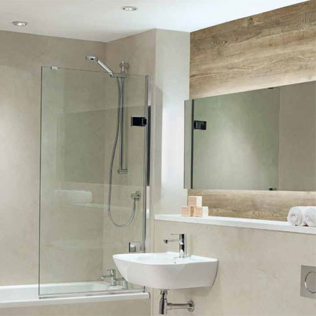 Mitchells bathroom wall panels and worktops Southampton Hampshire