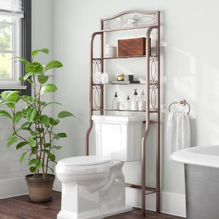 Space Saver Over Toilet | Wayfair