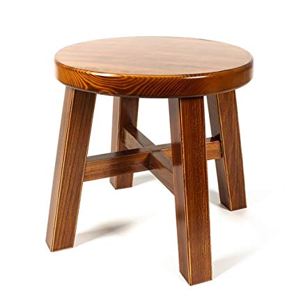 Amazon.com - Home Simple modern solid wood stool/small stool/shoes