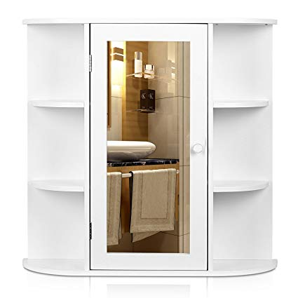 Amazon.com: HOMFA Bathroom Wall Cabinet Multipurpose Kitchen