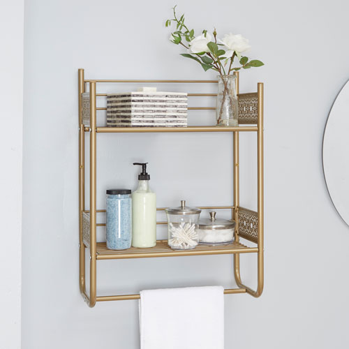Bathroom Wall Shelves – Elegant, Stylish   and Hassle-Free