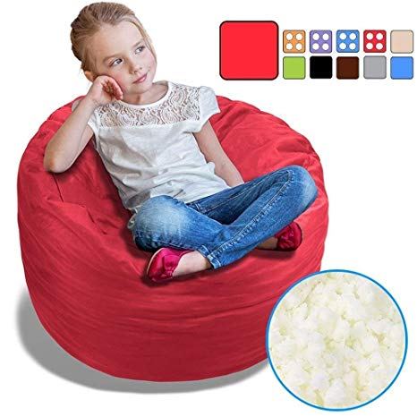 Amazon.com: BeanBob Bean Bag Chair (Flaming Red), 2.5ft - Bedroom