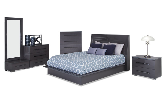 Platinum Bedroom Set | Bobs.com