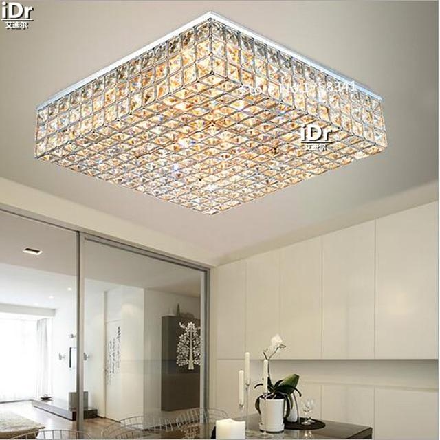 Europe lamps crystal lighting master bedroom room headlights