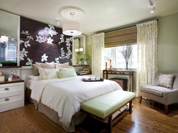 Contemporary Bedroom Lighting | HGTV