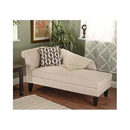 Amazon.com: Beige/tan Storage Chaise Lounge Sofa Chair Couch for